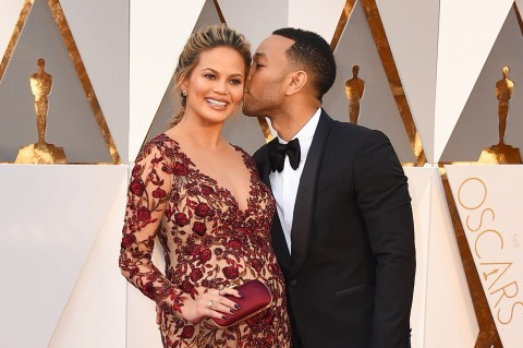 Chrissy Teigen s manželom Johnom Legendom